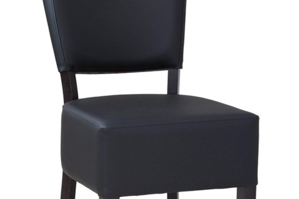 Gastronomie Stuhl aus Holz und mit Polster