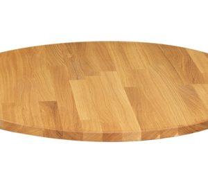Tischplatte Eiche Rund